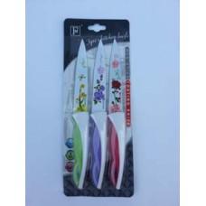 Набор ножей из 3 штук с керамическим покрытием