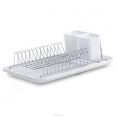 Сушка для посуды с подставкой под ложки, вилки