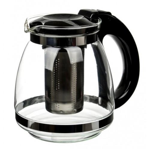Чайник заварочный черный 1000мл