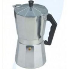 Кофеварка гейзерная алюминевая на 3 чашки