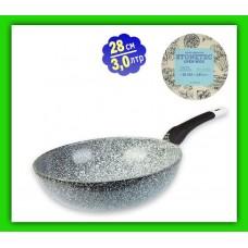 Сковорода c мраморным покрытием 20см-NEW